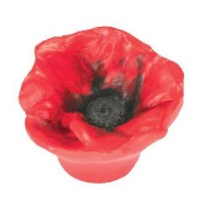 Siro Designs Red Poppy Knob