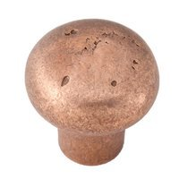 "Alno Inc. Creations - Sierra - Solid Bronze 1 1/4"" Knob in Rust Bronze"