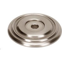 "Alno Inc. Creations - Venetian - Solid Brass 1 3/8"" Rosette in Satin Nickel"