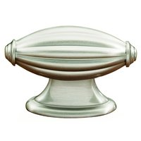 "Alno Inc. Creations - Tuscany - Solid Brass 1 7/8"" Knob in Satin Nickel"