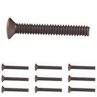 "Amerelle Wallplates - Accessories - 10 Pack of 1"" Wallplate Screws in Aged Bronze"