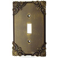 Anne at Home - Corinthia - Corinthia Switchplate Single Toggle Switchplate in Pewter Matte