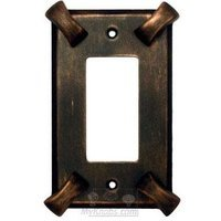 Anne at Home - Hammerhein - Hammerhein Switchplate Rocker/GFI Switchplate in Pewter Matte