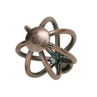 Atlas Homewares - Antiquities - Wire Frame Knob in Copper