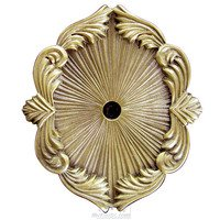 Edgar Berebi - Backplates - Knob Backplate in Antique Brass