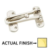 "Emtek Hardware - Door Accessories - 5"" X 2-1/2"" Security Door Guard in Polished Chrome"