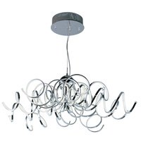 ET2 Lighting - Chaos - Chaos LED Pendant in Polished Chrome