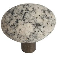 Michigan Naturals - Winter Morning Stone - Deluxe Knob in Winter Morning Granite