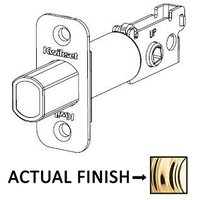 Kwikset Door Hardware - Door Accessories - Radius Deadbolt Latch in Bright Chrome