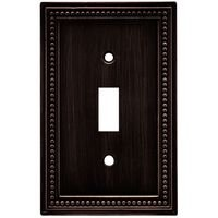 Liberty Hardware - Switchplates II - Single Toggle in Venetian Bronze