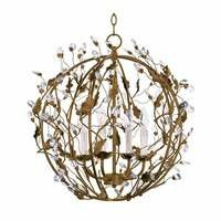 Maxim Lighting - Elegante - Elegante 4-Light Ball Pendant in Etruscan Gold