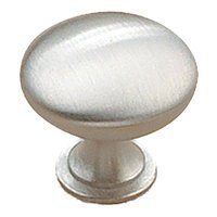 "Richelieu Hardware - Urban Expression IV - 1 1/8"" Diameter Knob in Brushed Chrome"