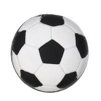 Siro Designs - Popsicle - 44mm Rubber Flex Knob in Soccer Ball