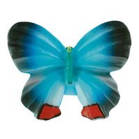 Siro Designs - Butterfly - Blue Navy Red Butterfly Knob