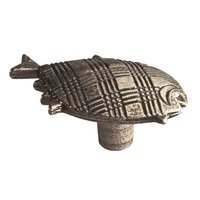 Siro Designs - Big Bang - Fish Knob in Antique Brass