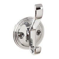 "Top Knobs - Hooks - 3 1/8"" Reeded Hook in Polished Chrome"